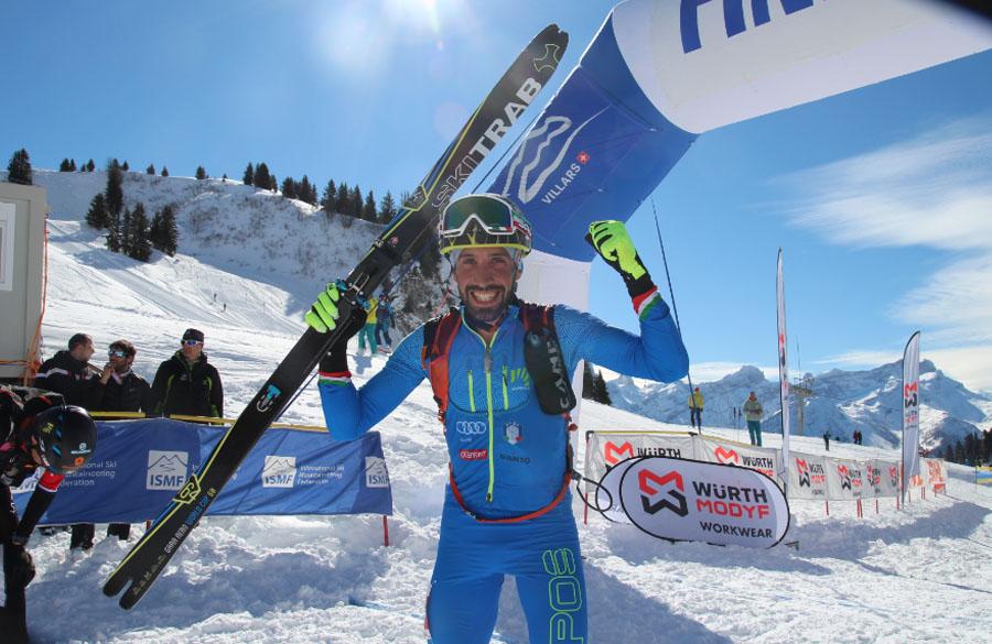 Campionati del Mondo a Villars: Antonioli d'oro