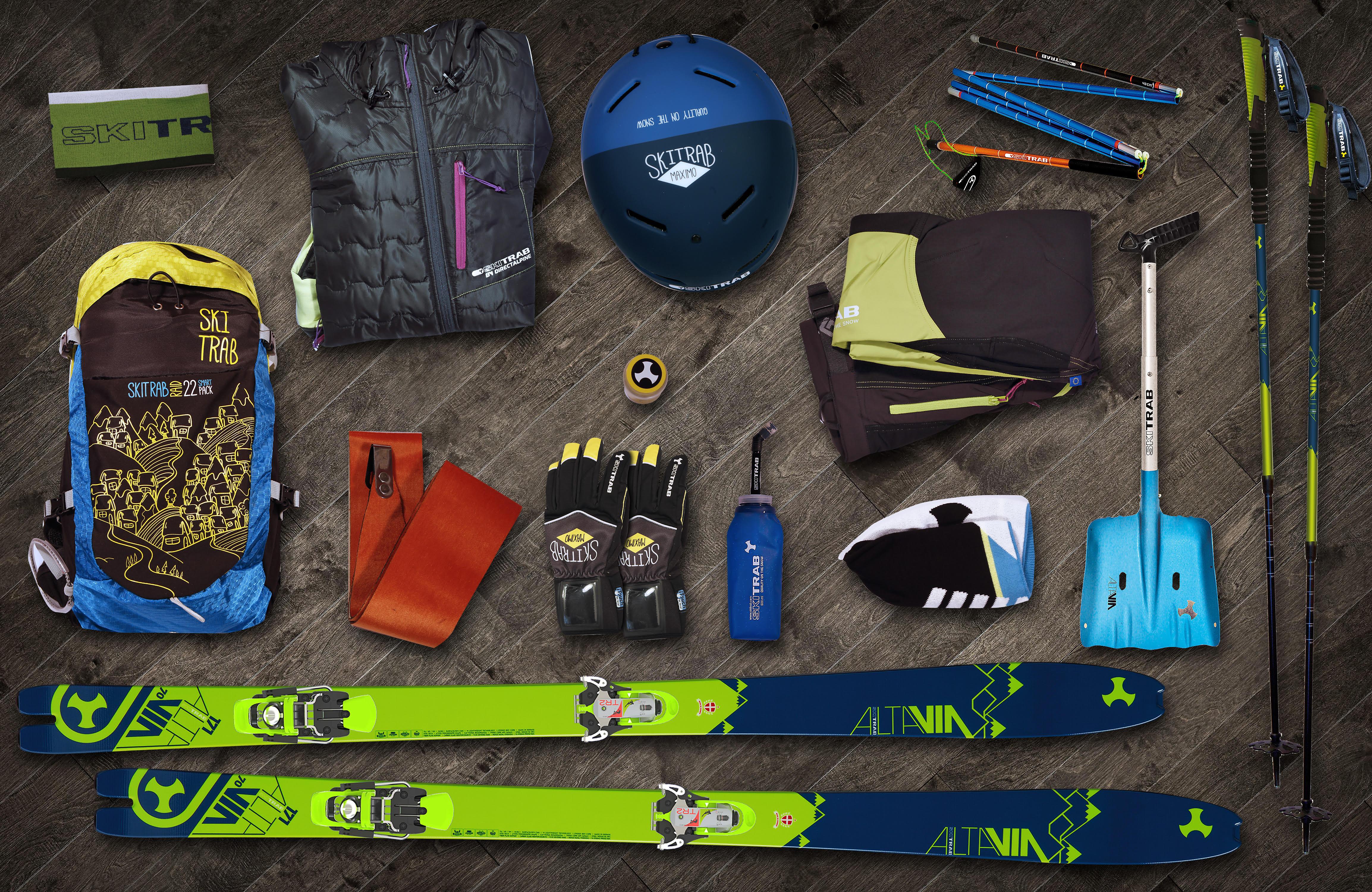 Per uno ski-touring leggero, affidabile e divertente: ecco Adventure Line Made in Ski Trab!