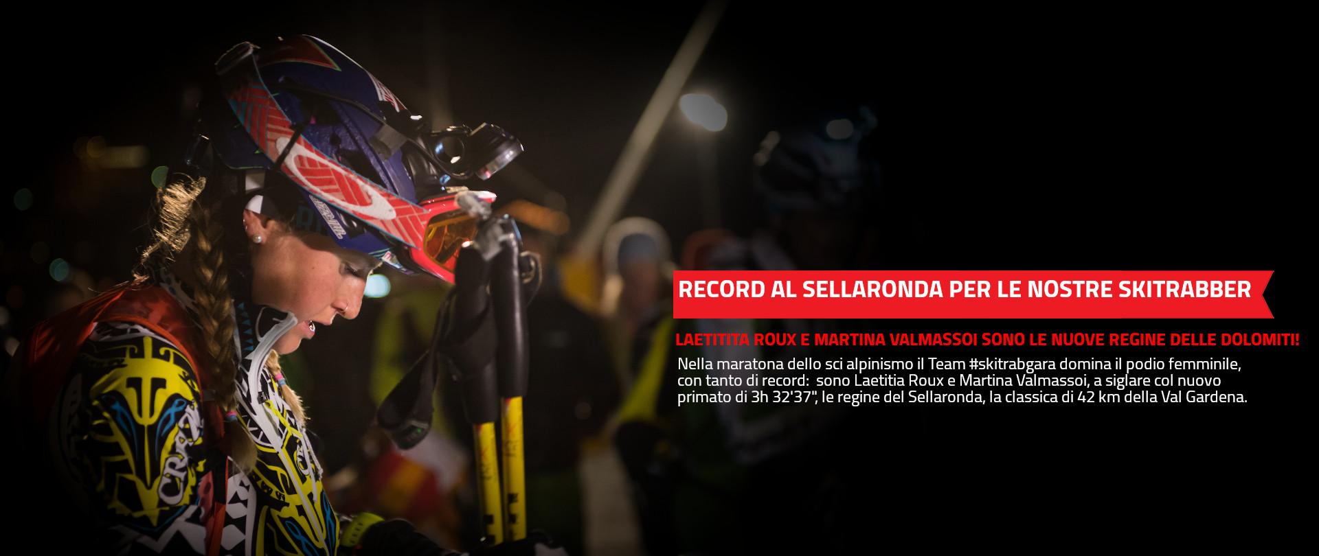 SELLARONDA da record per le nostre #skitrabber!