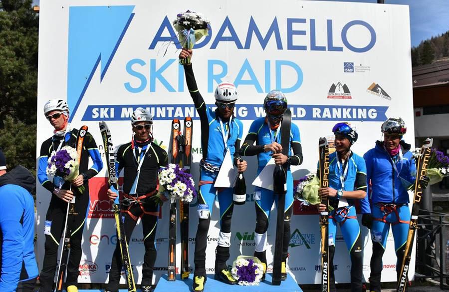 Adamello Ski Raid, podio per Anthamatten e Boscacci