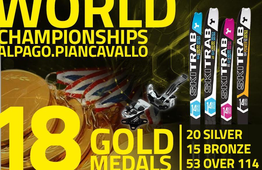 Mondiali Alpago-Transcavallo 2017: Ski Trab domina le classifiche con quasi il 50% delle medaglie